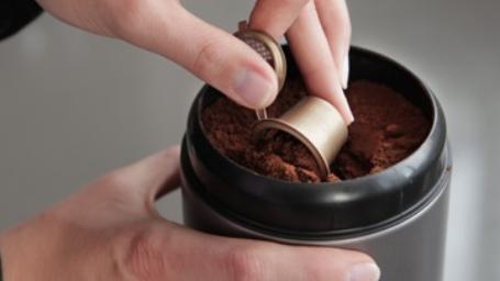 actie: hervulbare koffiecups