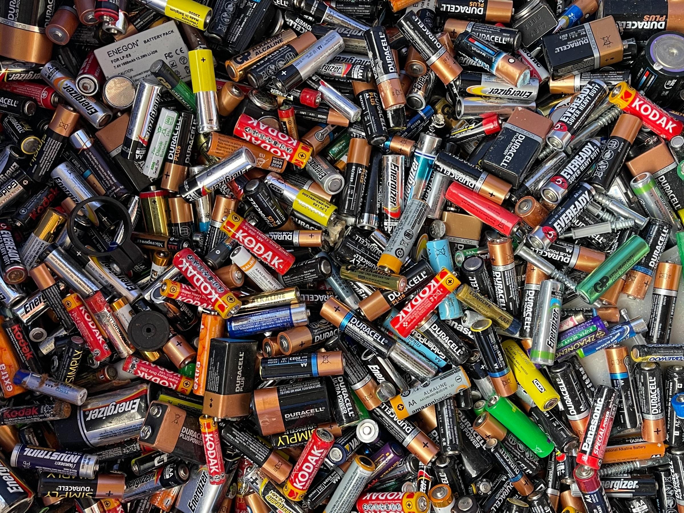 Blog post: Batterijen horen niet in de restafvalzak