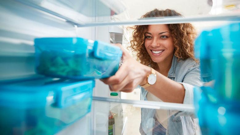 actie: Restjesschap in koelkast