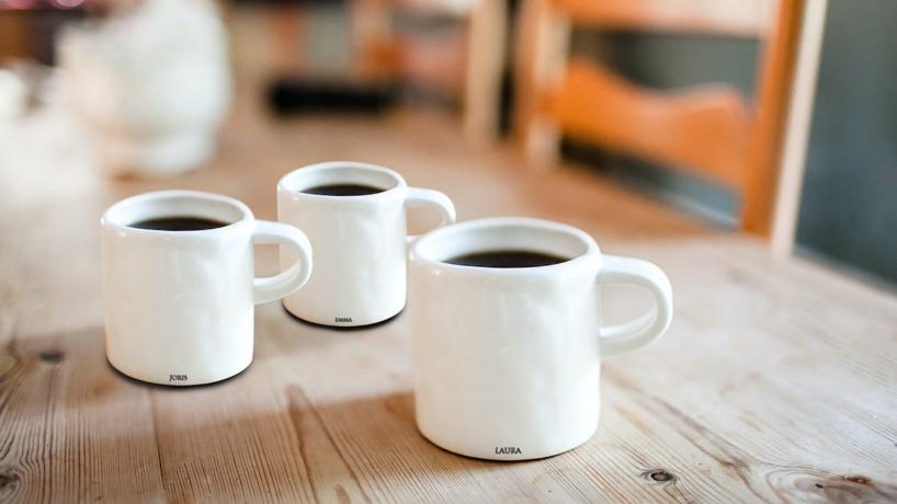 actie: Eigen koffiemok