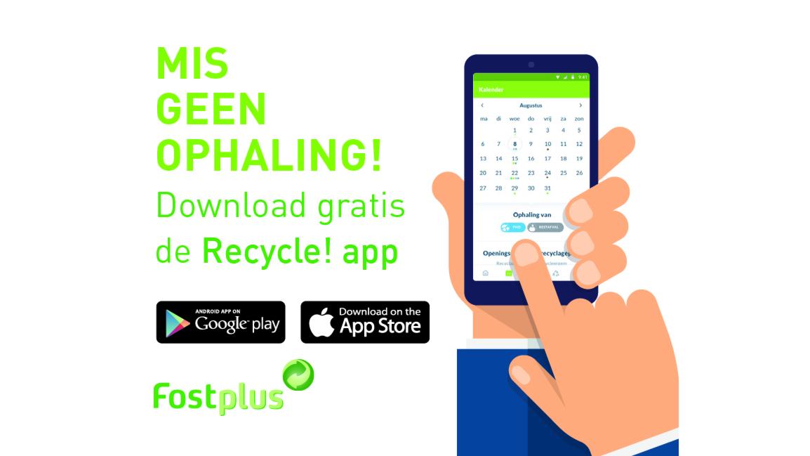 actie: Zorgeloos sorteren met app